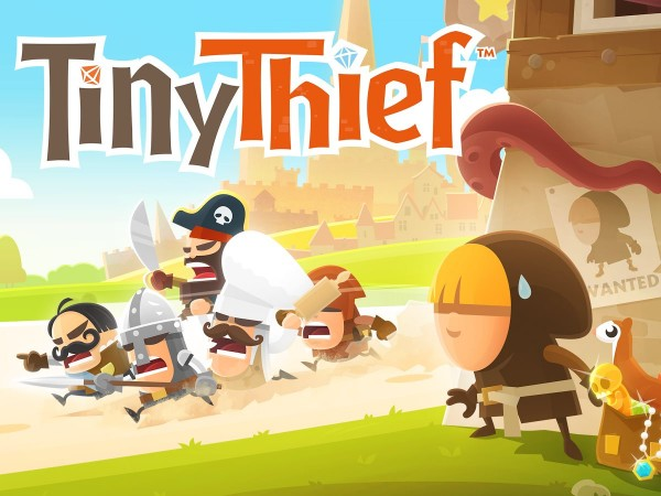 Tiny Thief - spash screen