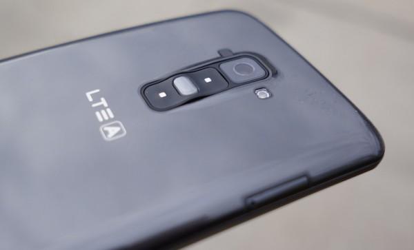 LG G Flex - kamera