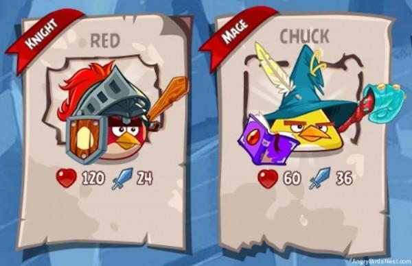 Angry Birds Epic - mag i wojownik