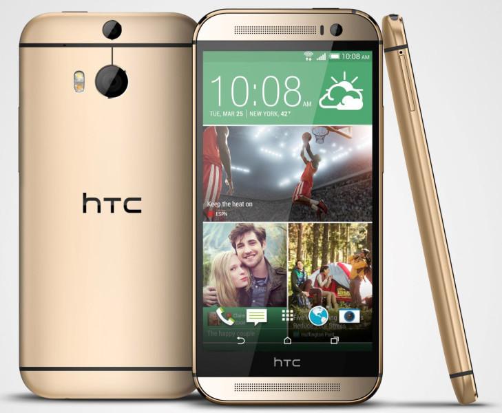HTC One (M8) - miedziany