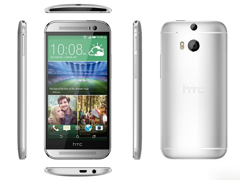 HTC One (M8) - wszystkie boki
