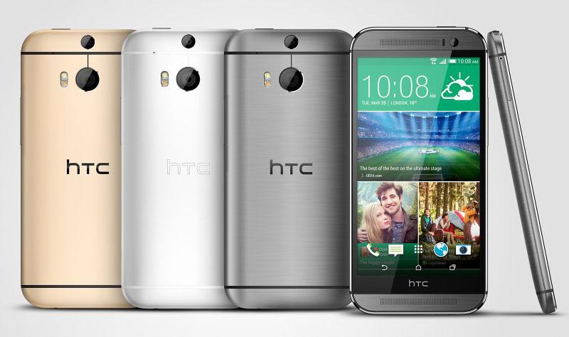 HTC One (M8) - kolory