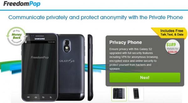 Privacy Phone - broszura