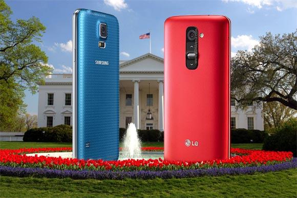Samsung Galaxy S5 oraz LG G2