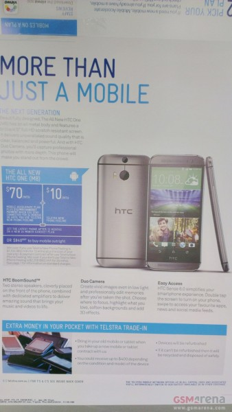 The All New HTC One - Telstra