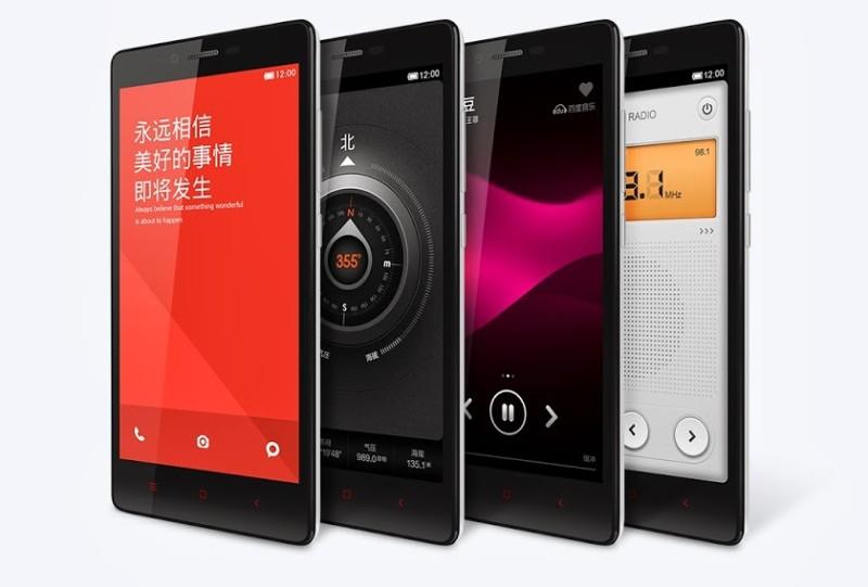 Xiaomi Redmi Note - kilka obok