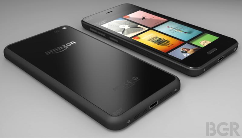 Amazon - pierwszy smartfon