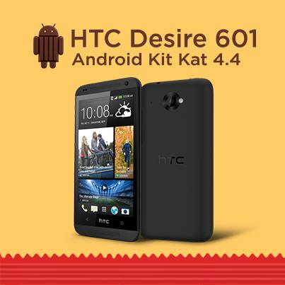 HTC Desire 601 - Android 4.4 KitKat