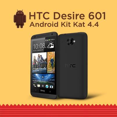 HTC Desire 601 - Android 4.4 KitKat