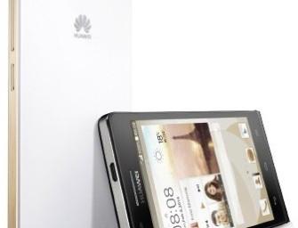 Huawei Ascend P7 mini: 4.5″ smartfon ze Snapdragonem 400