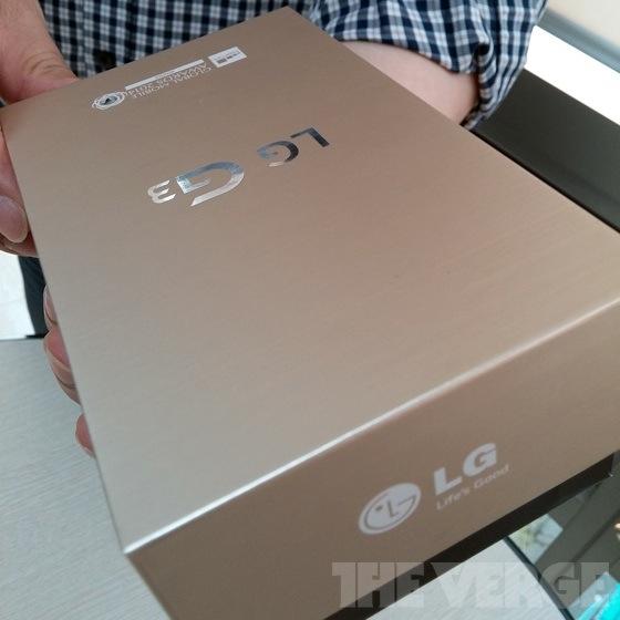 LG G3 - kartonik