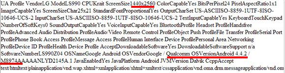LG G3 - specyfikacja Sprint