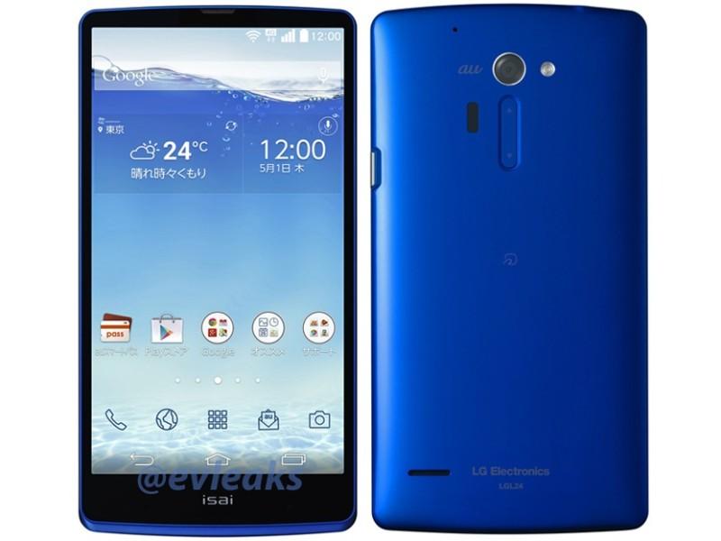 LG Isai - niebieski