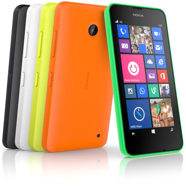 Nokia Lumia 630 - kolory