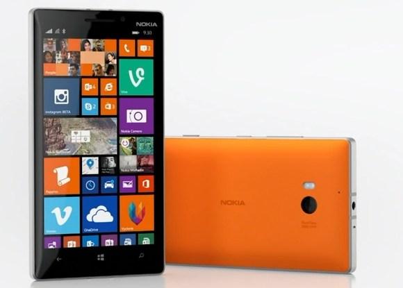 Nokia Lumia 930 - pomarańczowa