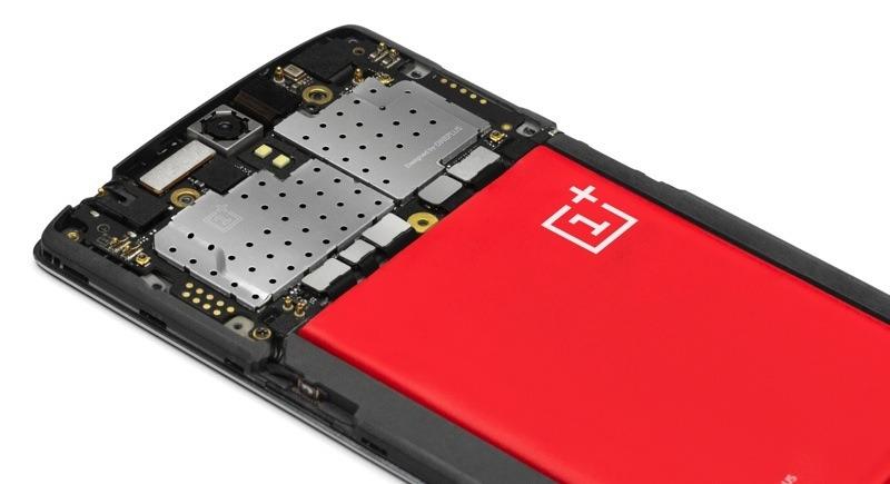 OnePlus One - wnętrze