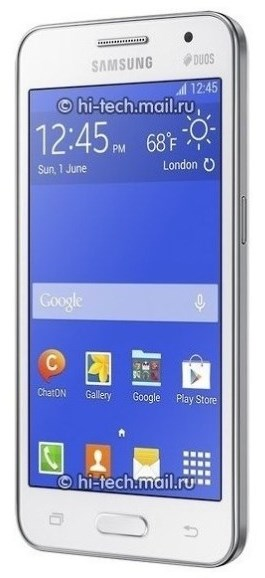 Samsung Galaxy Core 2 - front