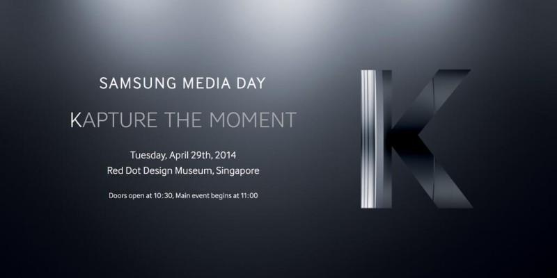 Samsung Galaxy K - zaproszenie