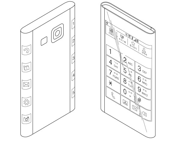 Samsung Galaxy Note 4 - patent