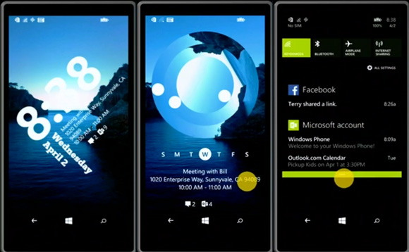 Windows Phone 8.1 - centrum akcji