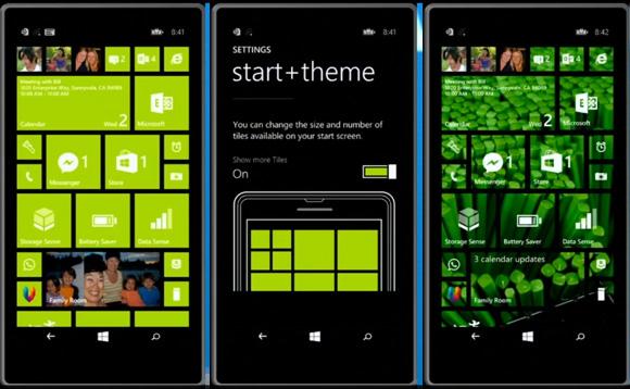 Windows Phone 8.1 - ekran blokowania i zywe kafelki