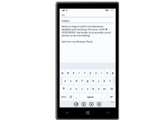 Windows Phone 8.1 - Wordflow