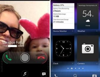BlackBerry OS 10.3 – zrzuty ekranu ujawniają nowe funkcjonalności