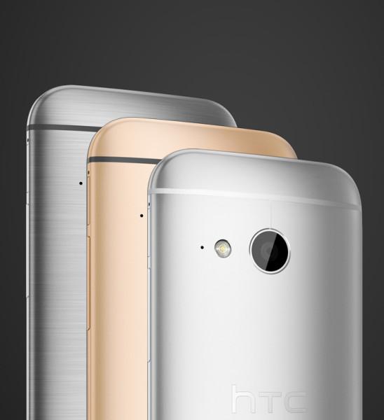 HTC One mini 2 - kolorowe tyły