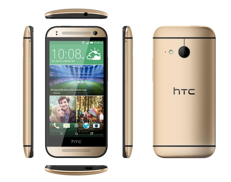 HTC One mini 2 - złoty