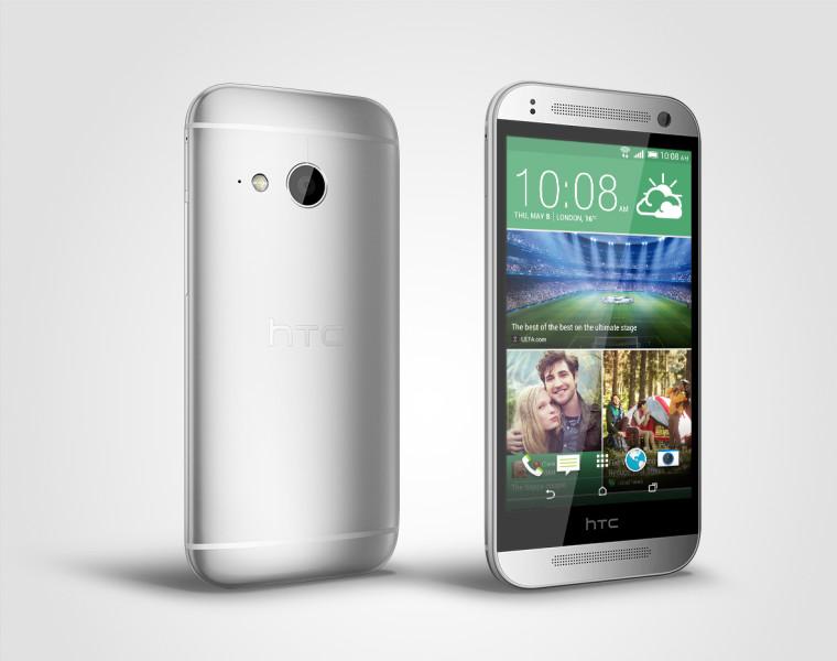 HTC One mini 2 - srebrny