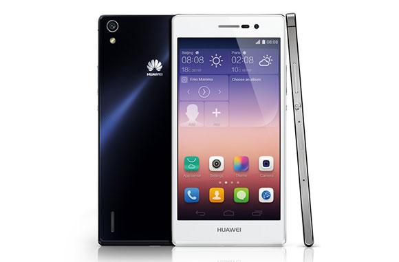 Huawei Ascend P7 - wszystkie strony