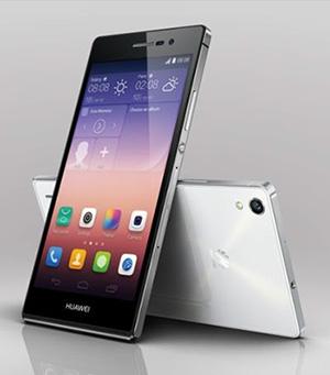 Huawei Ascend P7 - oparte