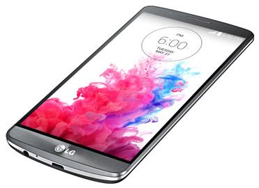 LG G3 - rzut