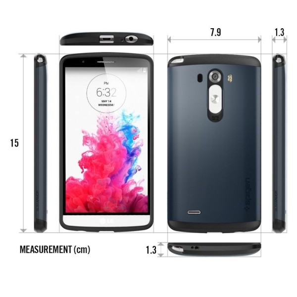 LG G3 - pokrowiec, wymiary