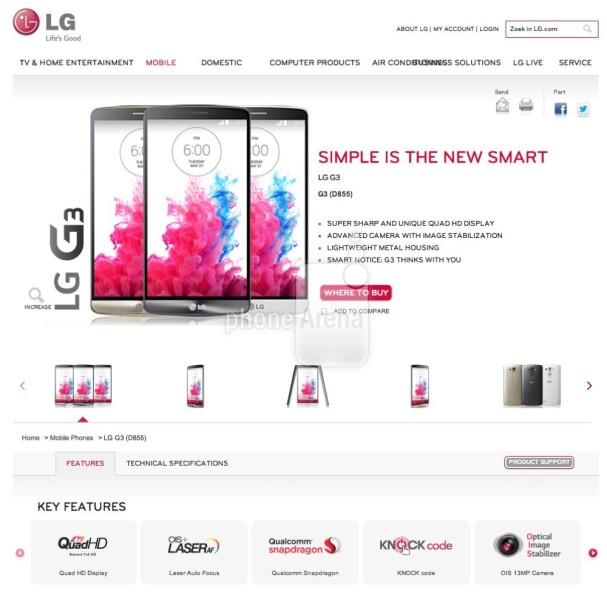 LG G3 - zrzut strony 3