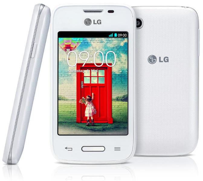 LG L35 - biały