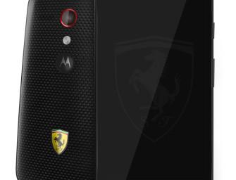 Motorola Moto G Ferrari Edition zaprezentowana