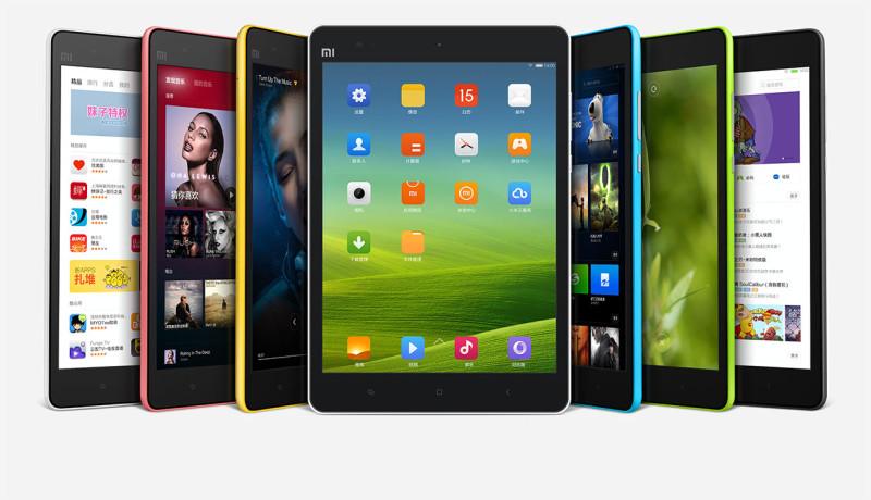 Xiaomi Mi Pad 7.9 - wiele ekranów