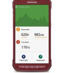 Samsung Galaxy S5 Active - czerwony