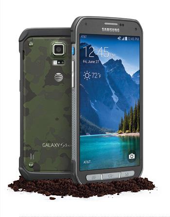 Samsung Galaxy S5 Active - moro
