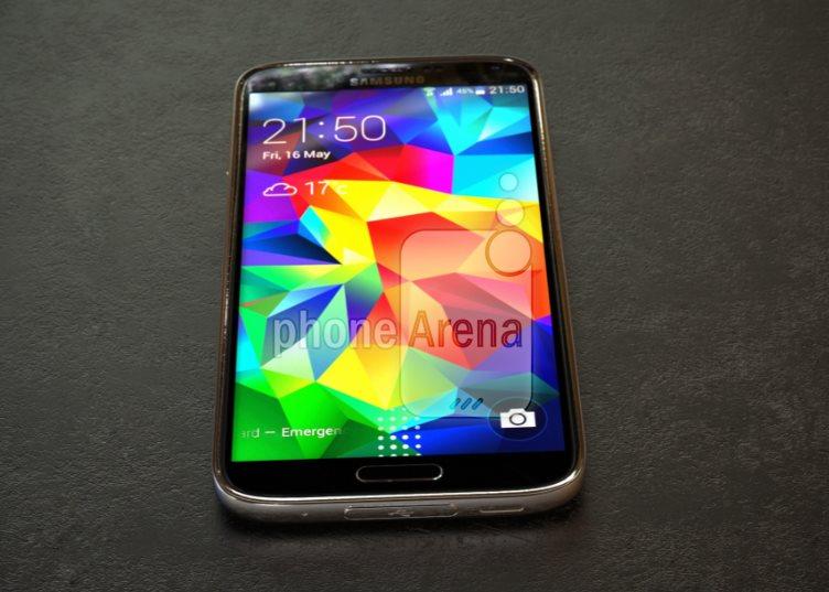 Samsung Galaxy S5 Prime - od dołu
