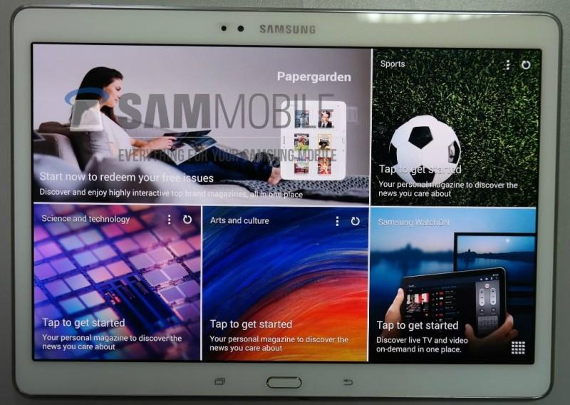 Samsung Galaxy Tab S 10.5 - front
