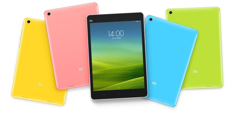 Xiaomi Mi Pad 7.9 - kolory