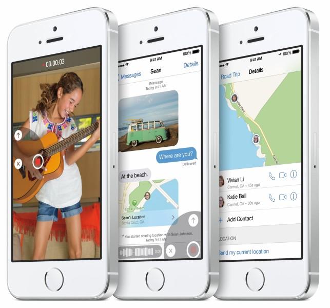 Apple iOS 8 - wiadomości