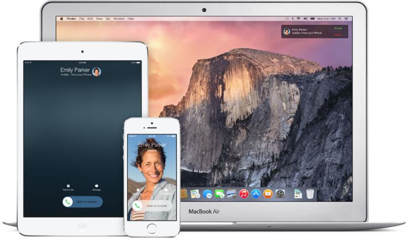 Apple iOS 8 - odbieranie połączenia