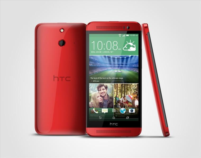 HTC One (E8) - czerwony