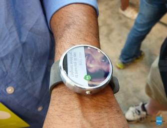 Motorola Moto 360 nareszcie zademonstrowany