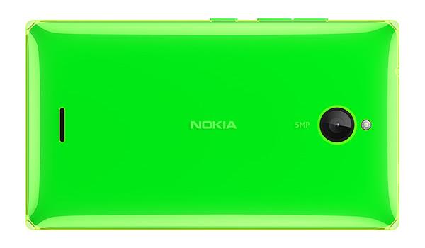 Nokia X2 - tył zielonej
