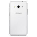 Samsung Galaxy Core 2 Duos - biały, tył