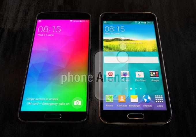 Samsung Galaxy F i Galaxy S5